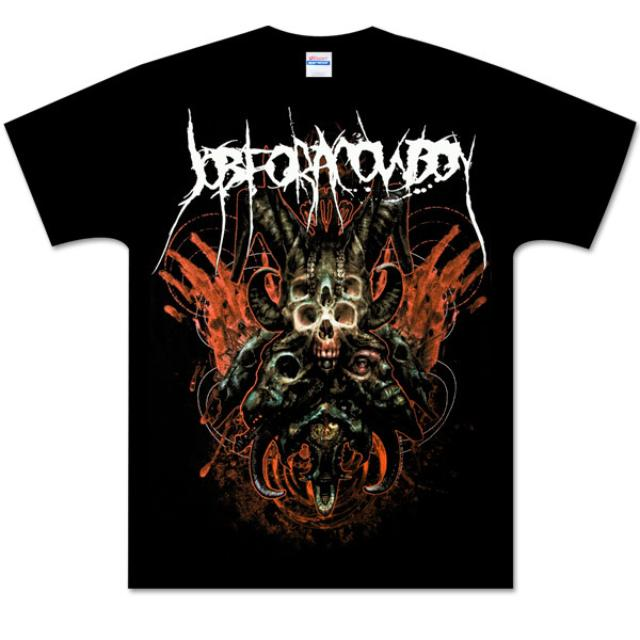 Job For A Cowboy Faces Of Death T-Shirt