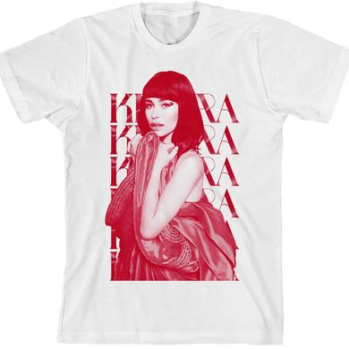 Kimbra Red Dress T-Shirt