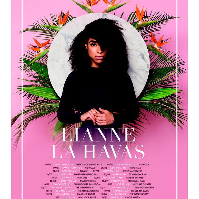 Lianne La Havas Blood Tour Poster