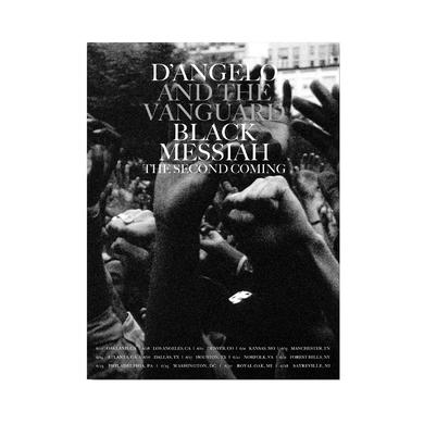 D'Angelo Black Messiah Second Coming Poster