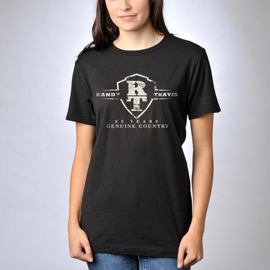 Randy Travis 25 Years Anniversary Logo T-Shirt