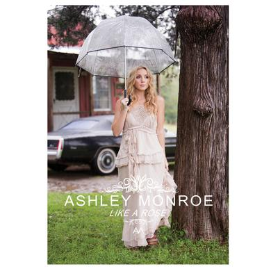 Ashley Monroe Autographed Like A Rose Poster