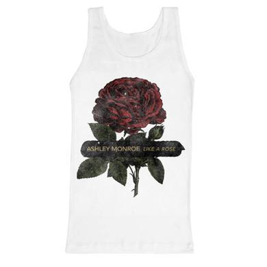 Ashley Monroe Blooming Rose Tank Top