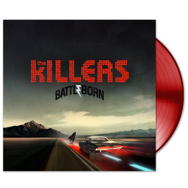 The Killers - Battle Born Limited Edition Red Vinyl