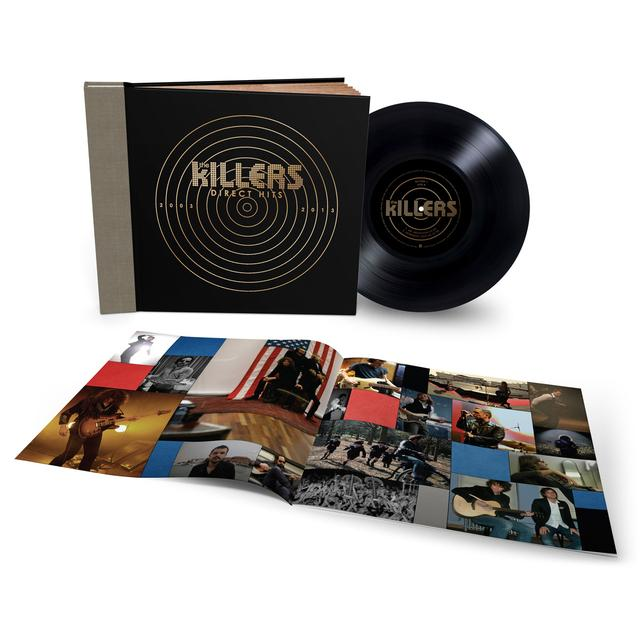 The Killers Direct Hits Uber Deluxe Vinyl LP Book