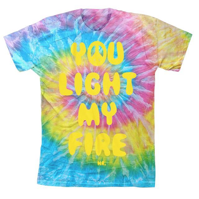 Nate Ruess Light My Fire Tie Dye T-Shirt