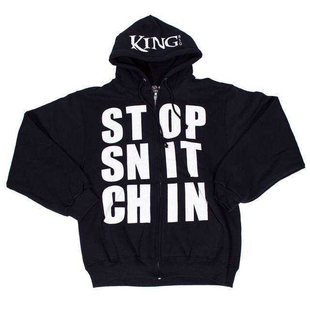 King 810 Stop Snitchin Hoodie