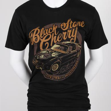 Black Stone Cherry White Trash Car T-Shirt