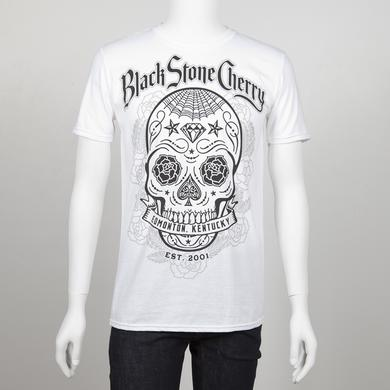Black Stone Cherry Sugar Skull Bomb T-Shirt