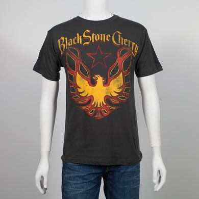 Black Stone Cherry Eagle Charcoal T-Shirt
