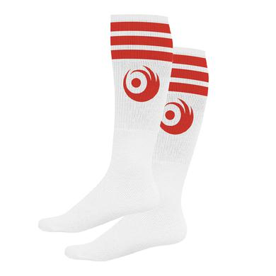 Lights Red Logo Socks