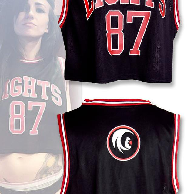 Lights 87 Custom Jersey