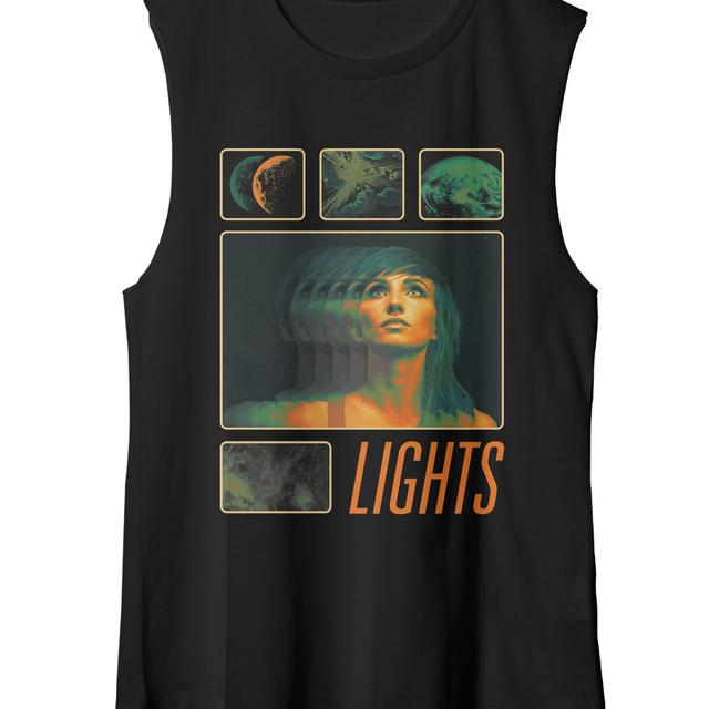 Lights Space Train Tank