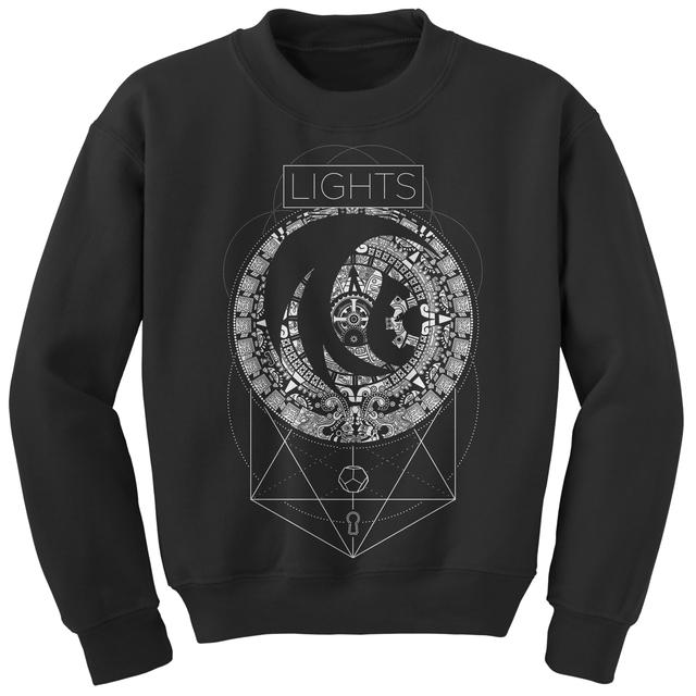 Lights Machine Mandala Crewneck Sweatshirt