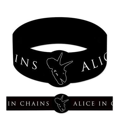 Alice In Chains Dino Outline Rubber Bracelet