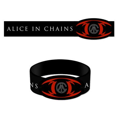 Alice In Chains TrEYEangle Rubber Bracelet