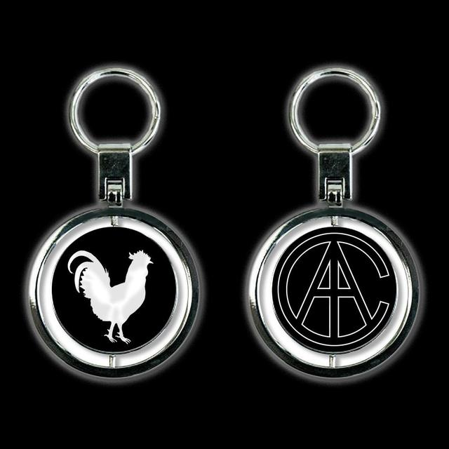 Alice In Chains Rooster Rocker Spinner Keychain