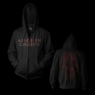 Alice In Chains Red Line Hoodie