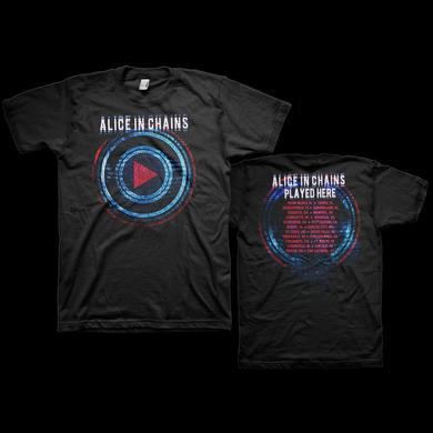 Alice In Chains Played Tour T-Shirt