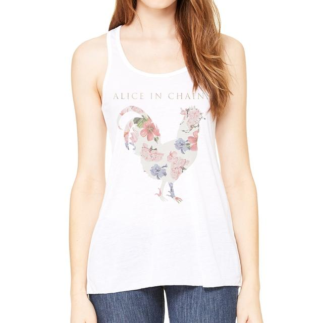 Alice In Chains Floral Rooster Junior Tank