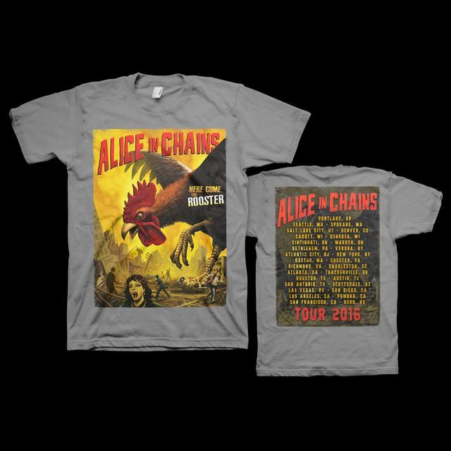 Alice In Chains Killer Rooster 2016 Tour Tee