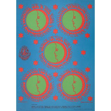 Family Dog Dance of Five Moons Lithograph