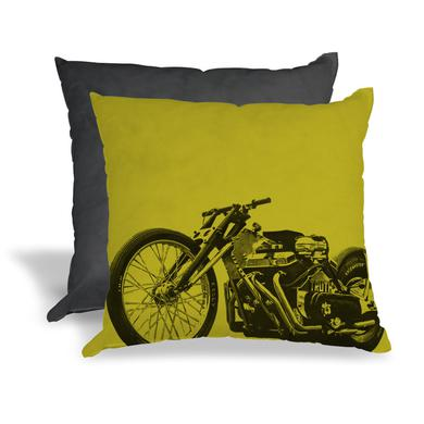 Family Dog Motorcycle Pillow