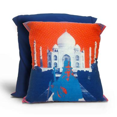 Family Dog Taj Mahal Pillow