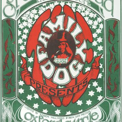 Family Dog Logo aka Grateful Dead Lithograph