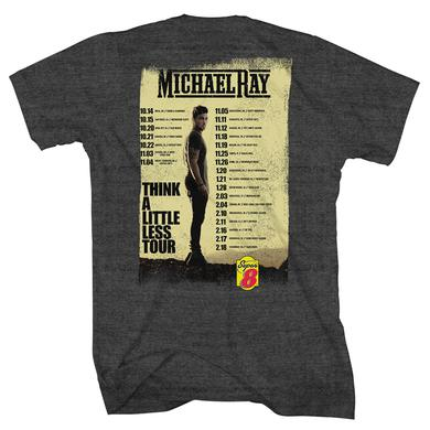 Michael Ray Think A Little Less Tour T-Shirt