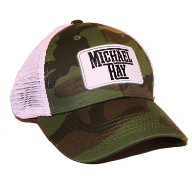 Michael Ray Pink Camo Trucker Hat