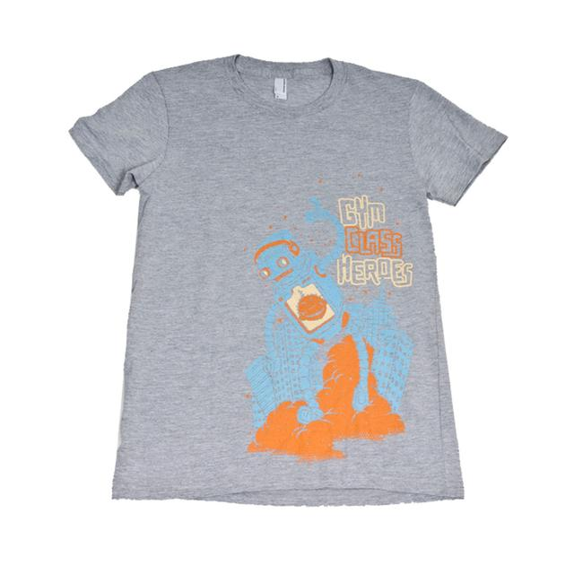 Gym Class Heroes Robot Slim Fit T-Shirt