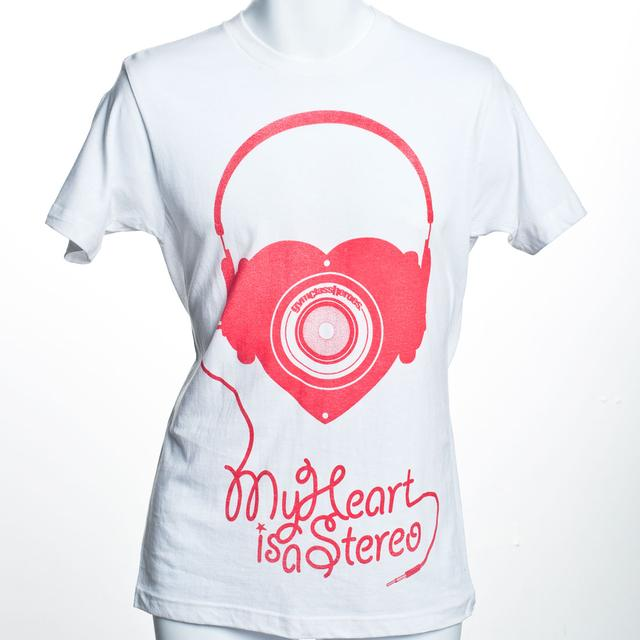 Gym Class Heroes Headphone Heart T-Shirt
