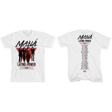 Maná Walking 2016 Tour T-Shirt