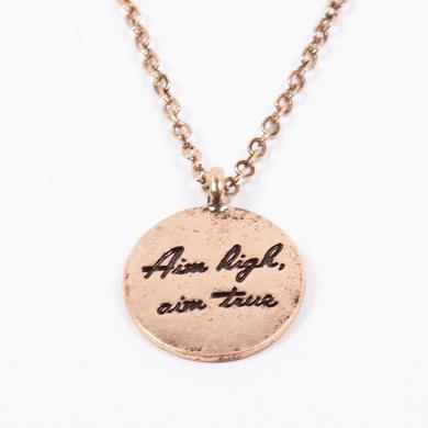 Vance Joy Aim High Necklace (Gold)