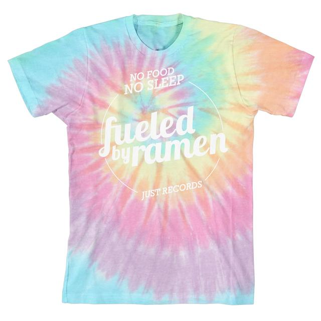 Fueled By Ramen FBR Just Records Tie Dye T-Shirt