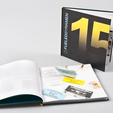 Fueled By Ramen 15th Anniversary Book + DVD