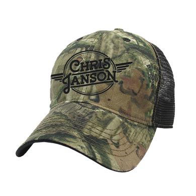 Chris Janson Camo Trucker Hat