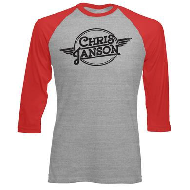 Chris Janson Wings Baseball T-Shirt