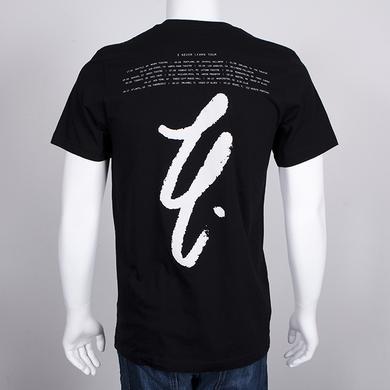 Lykke Li LL Cursive Tour T-Shirt (Black)