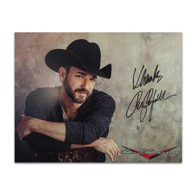 Craig Campbell Cowboy Stare Poster – Autographed