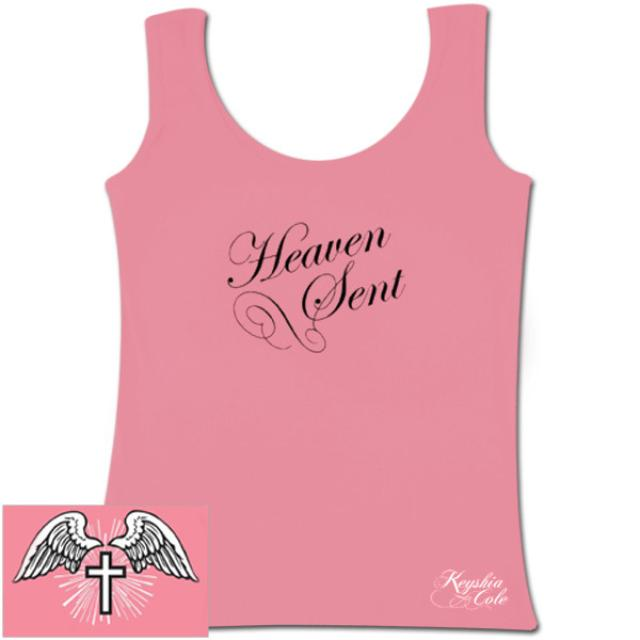 Keyshia Cole Pink Tank Top