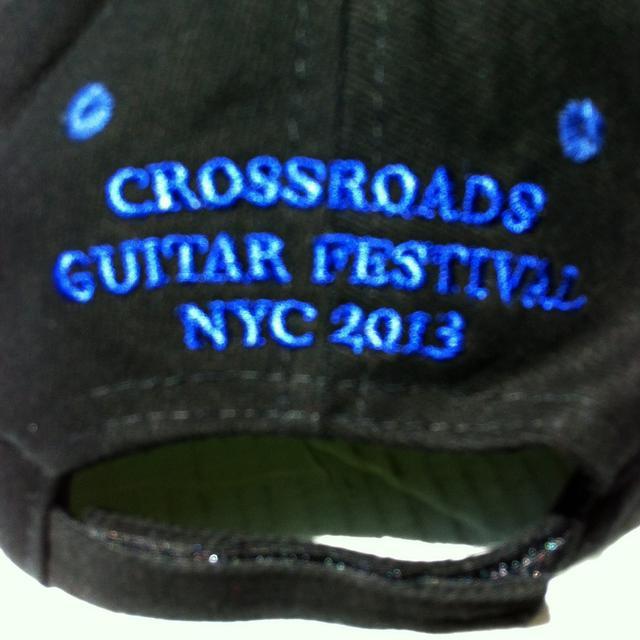 Eric Clapton Crossroads 2013 Black Ballcap