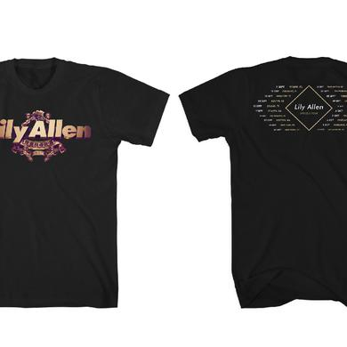 Lily Allen Logo Tour T-Shirt