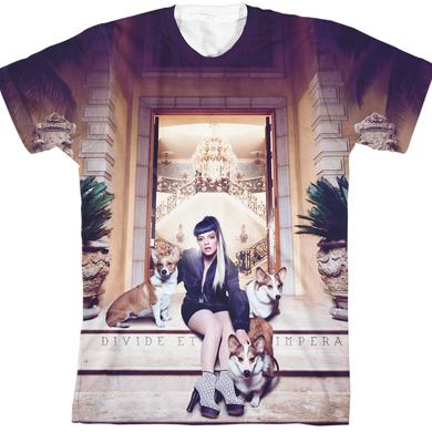 Lily Allen Sheezus Cover Art Sublimation T-Shirt
