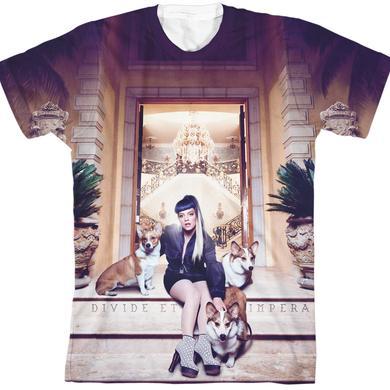 Lily Allen Sheezus Cover Art Sublimation T-Shirt