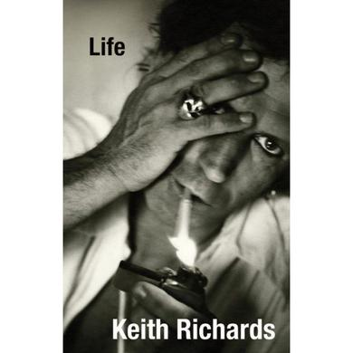 Keith Richards Life Paperback Book