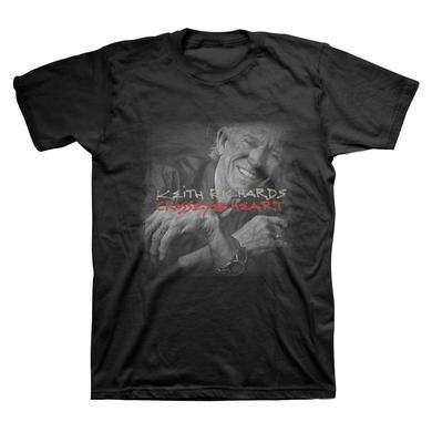 Keith Richards Crosseyed Heart T-Shirt