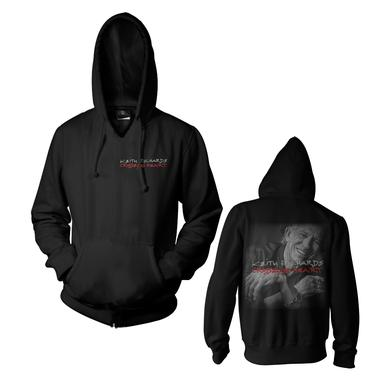 Keith Richards Crosseyed Heart Hooded Sweatshirt