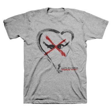 Keith Richards Crosseyed Heart Logo T-Shirt